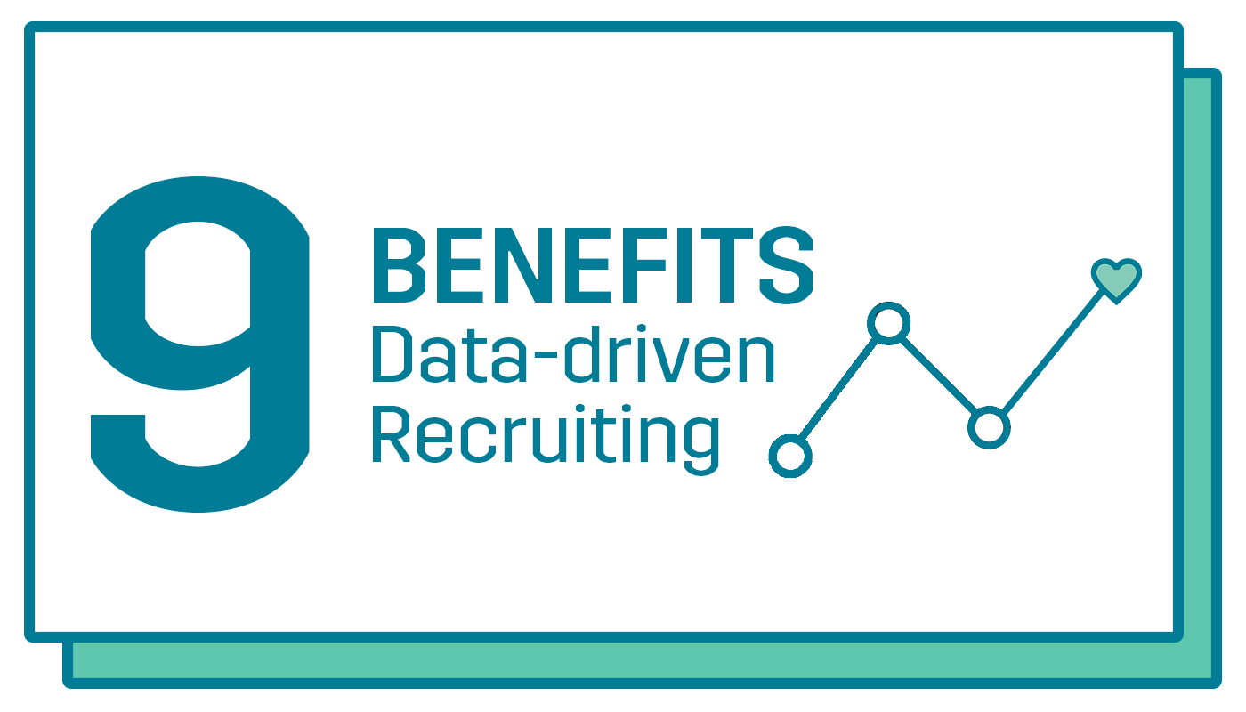 benefits data-driven recuriting